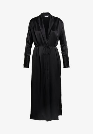 AMARIS LONG KIMONO - Short coat - black