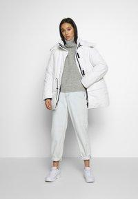 Weekday - ZIMBRA PADDED JACKET - Winter jacket - white - 1