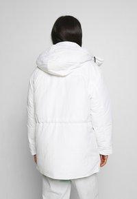 Weekday - ZIMBRA PADDED JACKET - Winter jacket - white - 2
