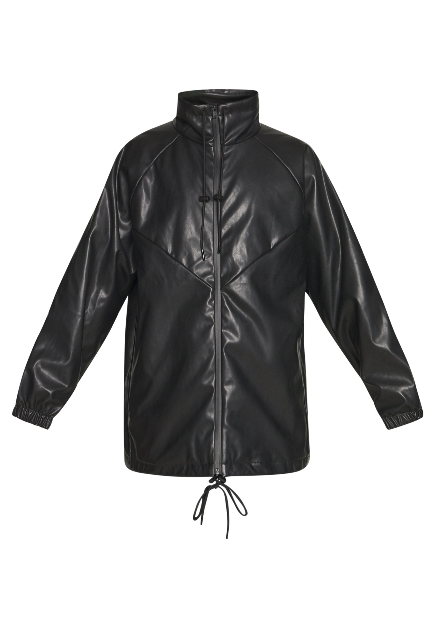 Weekday BRIANA JACKET - Giacca in similpelle - black