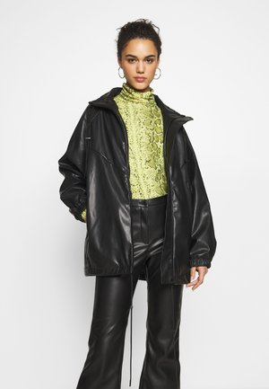 BRIANA JACKET - Giacca in similpelle - black