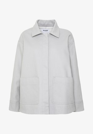 INA JACKET - Summer jacket - light grey