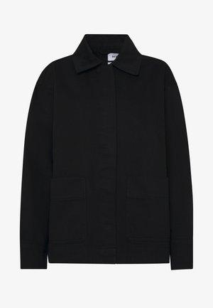 JILLIAN JACKET - Džínová bunda - black