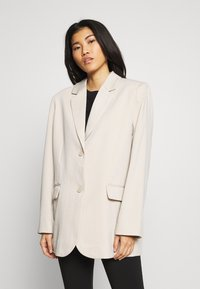 Weekday - TEAGAN - Blazer - light beige - 0