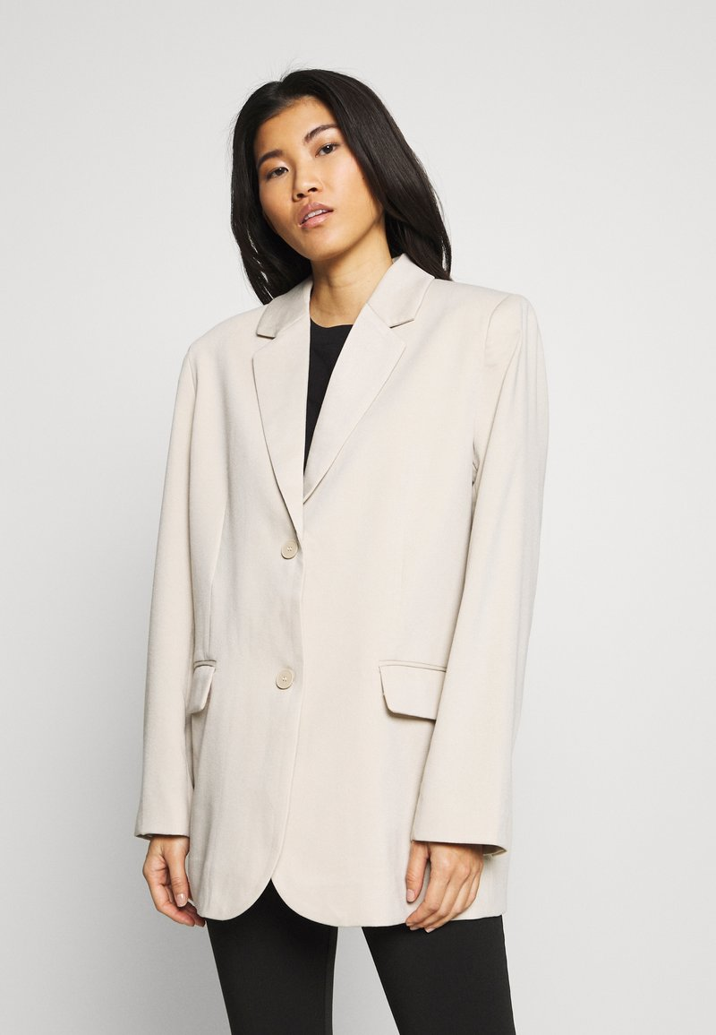 Weekday - TEAGAN - Blazer - light beige