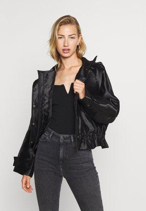 SAWYER JACKET - Lehká bunda - black