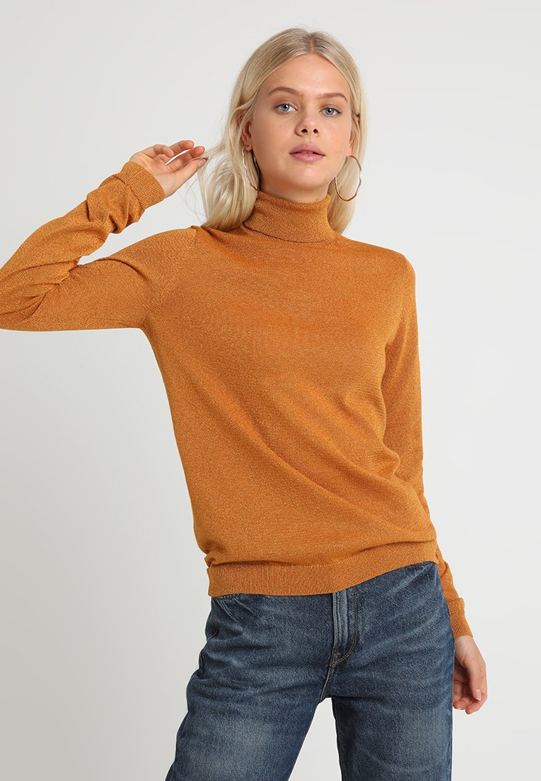 Weekday - CASTANET - Jumper - rust orange