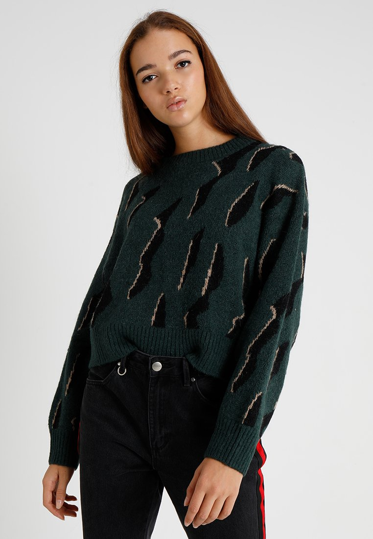 Weekday CLEO - Pullover green