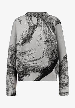 ATHENA - Stickad tröja - mole black