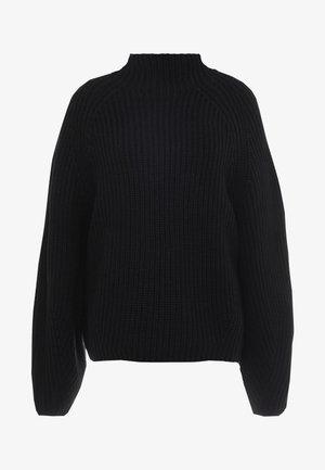 MOCKNECK - Pullover - black