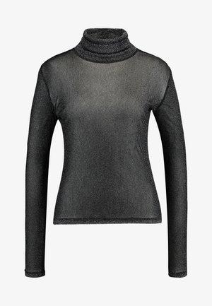 CARISSA TURTLENECK - Maglietta a manica lunga - black