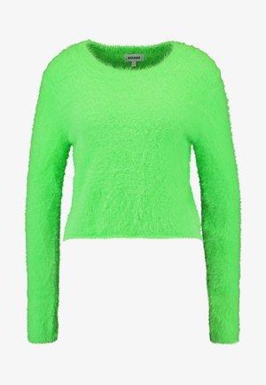 CHERISH SWEATER - Strickpullover - neon green