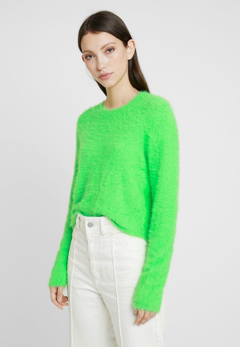 Weekday - CHERISH SWEATER - Jumper - neon green