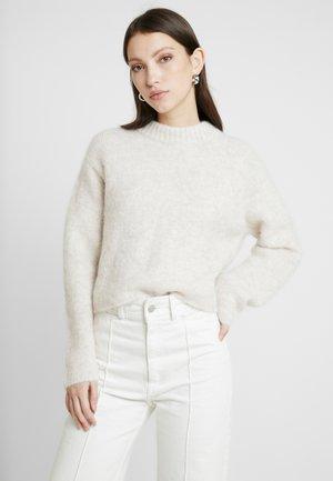 PAULINA - Jumper - white melange