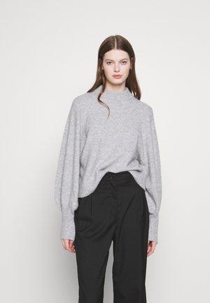 TAMIA - Strickpullover - grey melange