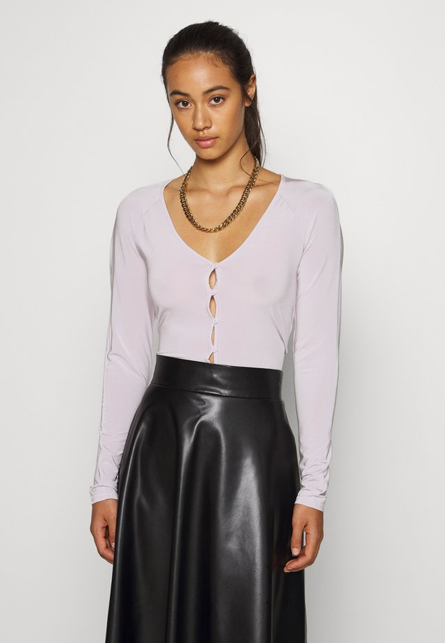 NICOLE - Long sleeved top - lilac
