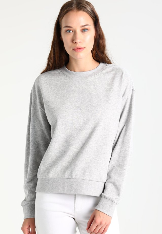 HUGE CROPPED  - Collegepaita - grey melange