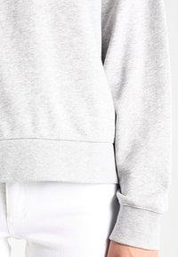 Weekday - HUGE CROPPED  - Sweatshirt - grey melange - 4