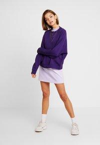 Weekday - HUGE CROPPED  - Sweatshirt - purple - 1
