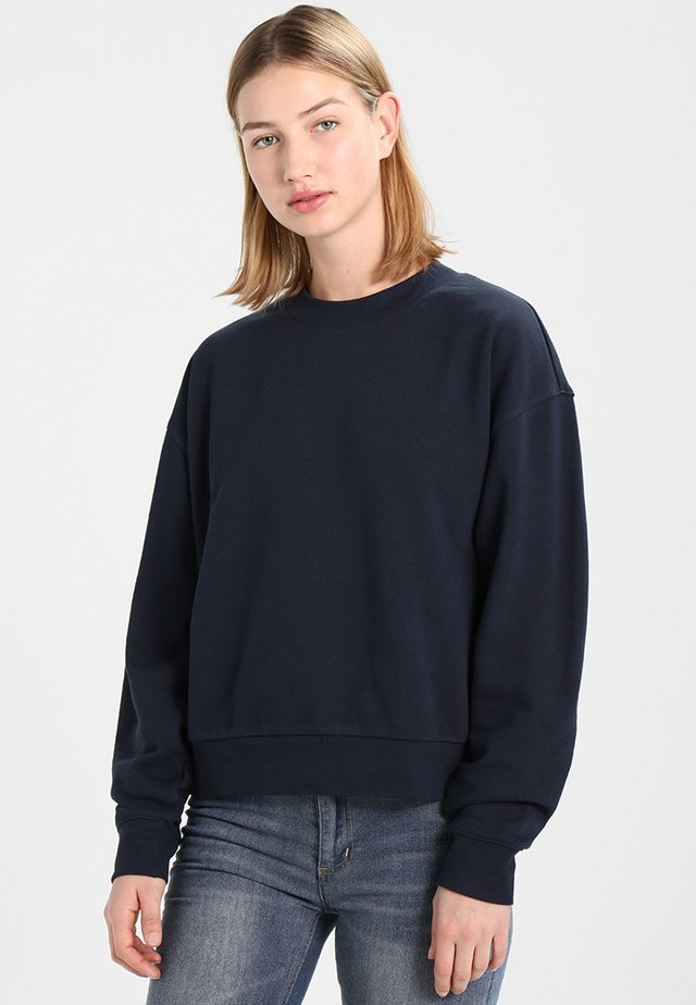 HUGE CROPPED  - Sweatshirt - navy