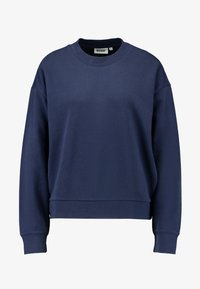 Weekday - HUGE CROPPED  - Sweatshirt - grey blue dark - 4