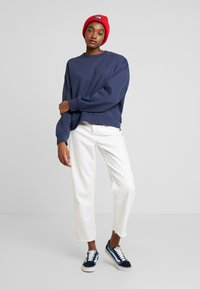 Weekday - HUGE CROPPED  - Sweatshirt - grey blue dark - 1