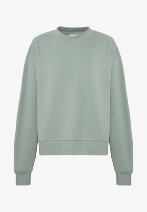 HUGE CROPPED  - Sweatshirt - sage green