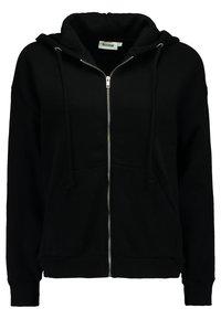 Weekday - AILIN ZIP - veste en sweat zippée - black - 0