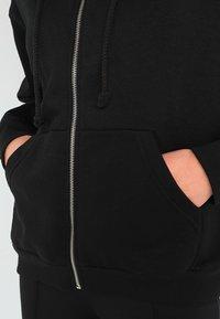 Weekday - AILIN ZIP - veste en sweat zippée - black - 4