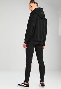 Weekday - AILIN ZIP - veste en sweat zippée - black - 3