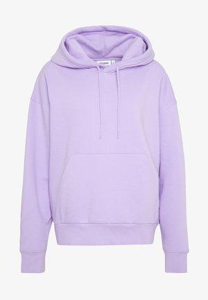Hoodie - lilac purple light
