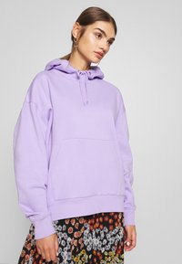 Weekday - ALISA HOODIE - Luvtröja - lilac purple light - 0