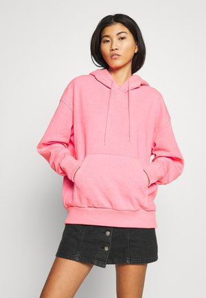 ALISA HOODIE - Luvtröja - neon pink