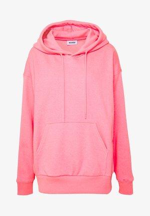 ALISA HOODIE - Kapuzenpullover - neon pink