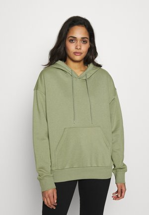 ALISA HOODIE - Bluza z kapturem - dusty green