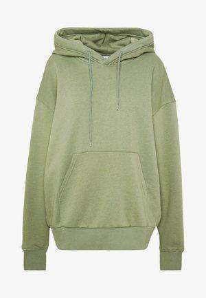 ALISA HOODIE - Jersey con capucha - dusty green