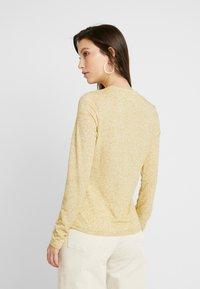 Weekday - IDUN LONG SLEEVE - Long sleeved top - beige - 2
