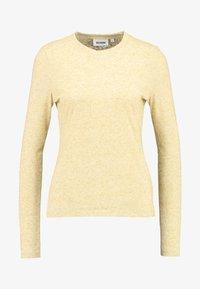 Weekday - IDUN LONG SLEEVE - Long sleeved top - beige - 3