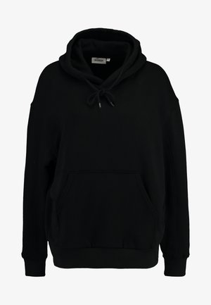 ALISA HOODED - Bluza z kapturem - black