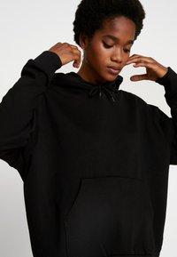 Weekday - ALISA HOODED - Hoodie - black - 3