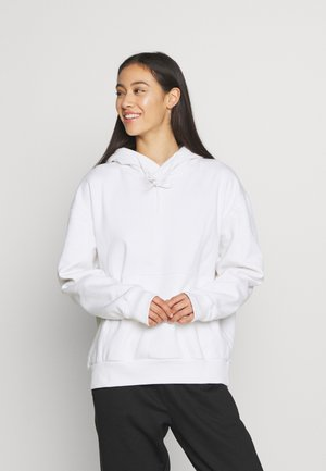ALISA HOODIE - Bluza z kapturem - white light