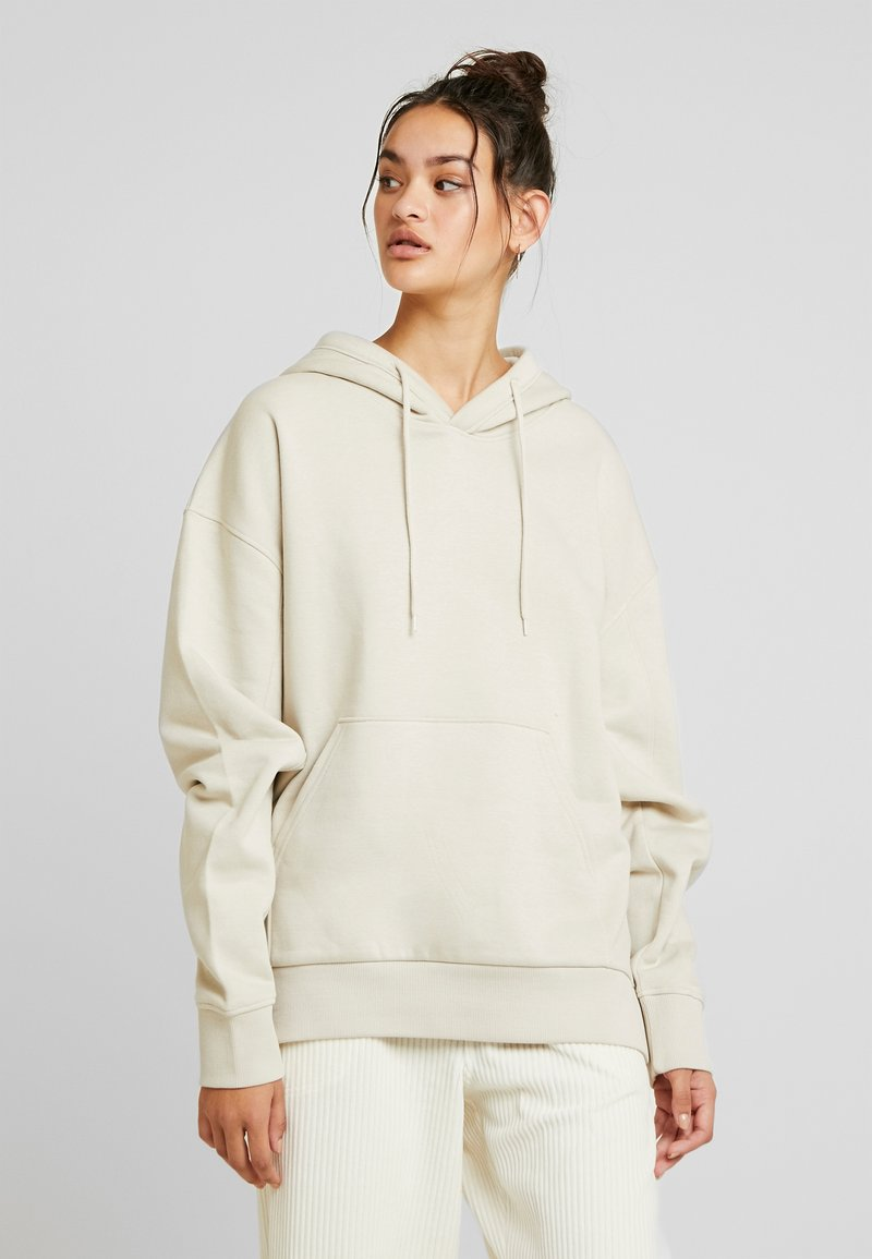 Weekday - ALISA HOODIE - Sweat à capuche - beige dusty light