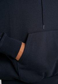 Weekday - ALISA HOODIE - Jersey con capucha - blue dark - 5