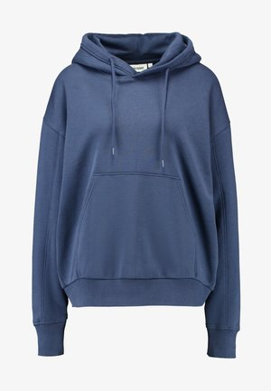 ALISA HOODIE - Felpa con cappuccio - blue medium dusty