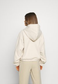 Weekday - MIMI ZIP HODDIE - Zip-up hoodie - light beige - 2