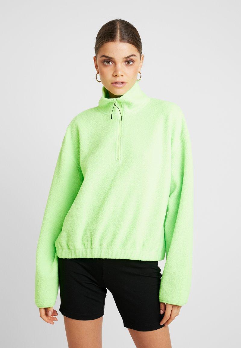 Weekday - MAJA - Fleecegenser - neon green