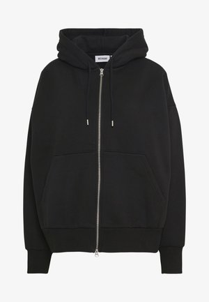 LEYLA ZIP - Bluza rozpinana - black