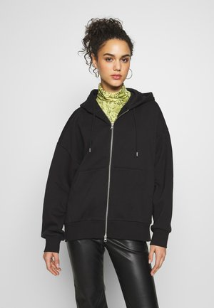 LEYLA ZIP - veste en sweat zippée - black