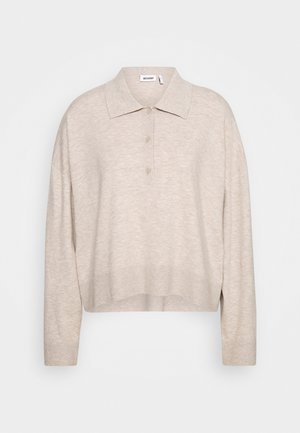 MONIQUE SWEATER - Sweatshirt - light mole melange