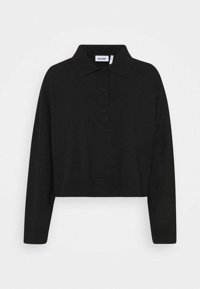 MONIQUE SWEATER - Sweatshirt - black